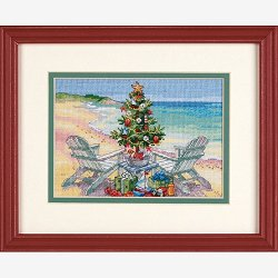 Dimensions Gold Collection Petite Kit - Christmas On The Beach (S)