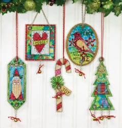 Dimensions Jingle Bell Ornaments Kit