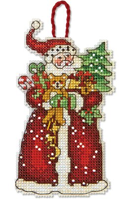 Dimensions Ornament Kit - Santa MAIN