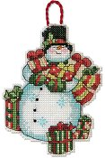 Dimensions Ornament Kit - Snowman THUMBNAIL
