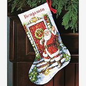 Dimensions Stocking Kit - Welcome Santa