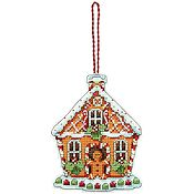 Dimensions Ornament Kit - Gingerbread House THUMBNAIL