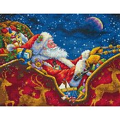 Dimensions Gold Collection Kit - Santa's Midnight Ride