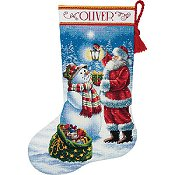 Dimensions Stocking Kit - Holiday Glow Stocking THUMBNAIL