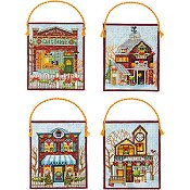 Dimensions Kit - Winter Village Ornaments