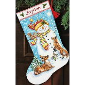 Dimensions Stocking Kit - Winter Friends Stocking