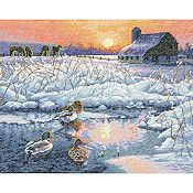 Dimensions Gold Collection Kit - Winter Morning