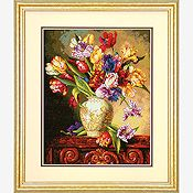 Dimensions Gold Collection Kit - Parrot Tulips