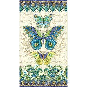 Dimensions Kit - Peacock Butterflies MAIN