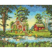 Dimensions Gold Collection Kit - Summer Cottage THUMBNAIL