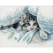 Dimensions Cross Stitch Kit - Cat Comfort THUMBNAIL