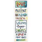 Dimensions Cross Stitch Kit - Love Is THUMBNAIL