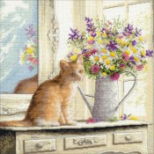 Dimensions Gold Collection Kit - Kitten In The Window
