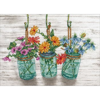 Dimensions Kit - Flowering Jars MAIN