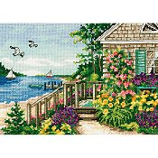 Dimensions Gold Collection Petite Kit - Bayside Cottage THUMBNAIL