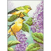 Dimensions Kit - Goldfinch and Lilacs (S)
