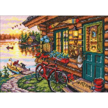 Dimensions Gold Collection Petite Kit - Cabin View (S)