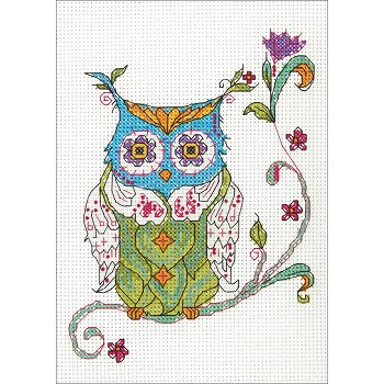 Dimensions Kit - Blooming Owl (S)