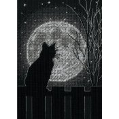 Dimensions Kit - Black Moon Cat THUMBNAIL