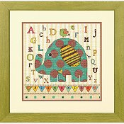 Dimensions Kit - Baby Elephant ABC