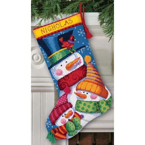 Dimensions Needlepoint Kit Freezin/' Season Stocking