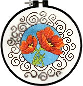 Dimensions Learn A Craft - Poppies (S)