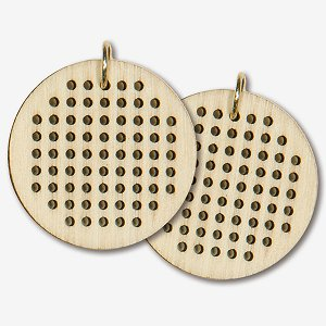 Dimensions Wooden Jewelry Blank - Small Circle MAIN