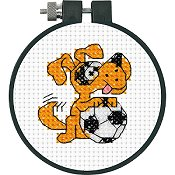 Dimensions Learn A Craft - Soccer Dog (S) THUMBNAIL