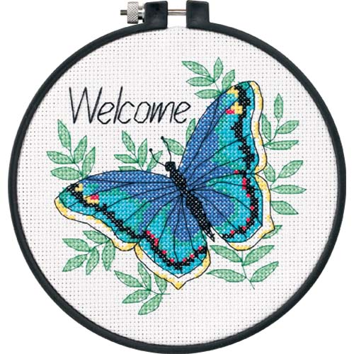 Dimensions Learn A Craft - Welcome Butterfly (S)