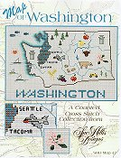 Sue Hillis Designs - Washington Map THUMBNAIL