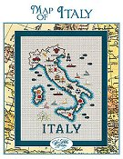Sue Hillis Designs - Map of Italy