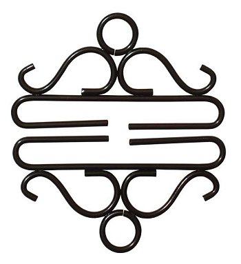"Bellpull - 4"" Black Wrought Iron THUMBNAIL"