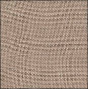 R & R Reproductions 32ct Linen - 8267 Creek Bed Brown