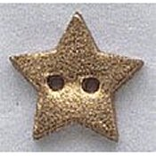 Mill Hill Button - 86016 Small Gold Star THUMBNAIL
