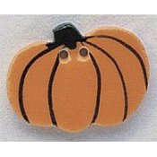 Mill Hill Button - 86034 Harvest Pumpkin MAIN