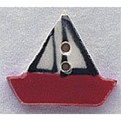 Mill Hill Button - 86037 Sailboat