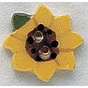 Mill Hill Button - 86069 Sunflower MAIN