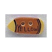 Mill Hill Button - 86120 Yellow Crayon THUMBNAIL