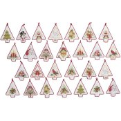 Bucilla Kit - Mini Christmas Tree Ornaments THUMBNAIL