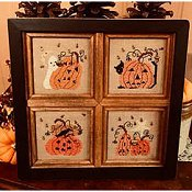 Homespun Elegance - Plain & Fancy Collection - Pumpkins A Plenty II