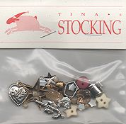 Shepherd's Bush - Tina's Stocking Embellishment Pack