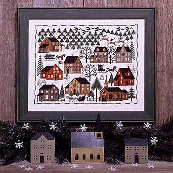 Prairie Schooler - Christmas Village_MAIN