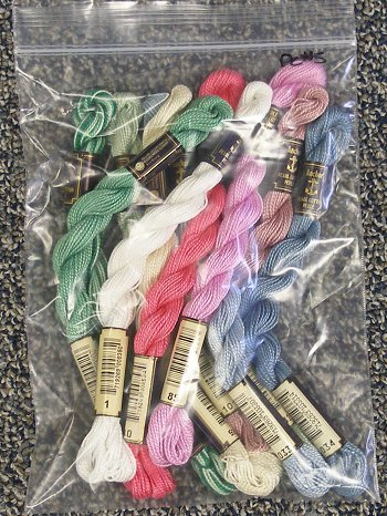 Anchor Pearl Cotton #5 Assorted Colors (10 skeins)