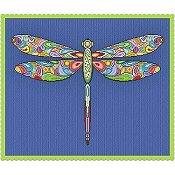 Alessandra Adelaide Needleworks - Happy Dragonfly