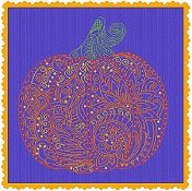 Alessandra Adelaide Needleworks - Lace Pumpkin THUMBNAIL