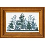 Alessandra Adelaide Needleworks - Foresta D'Inverno (Winter Forest) THUMBNAIL