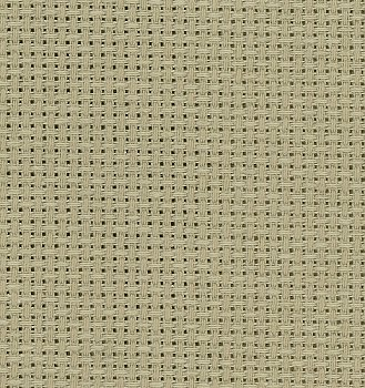 Color swatch of 16ct natural light Aida cross stitch fabric_MAIN