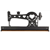 "Fabric Holder - 12"" Charcoal Sewing Machine THUMBNAIL"