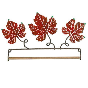 "Fabric Holder - Autumn Leaves 7.5"" MAIN"