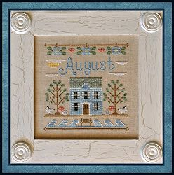 Country Cottage Needleworks - Cottage of the Month - August Cottage MAIN